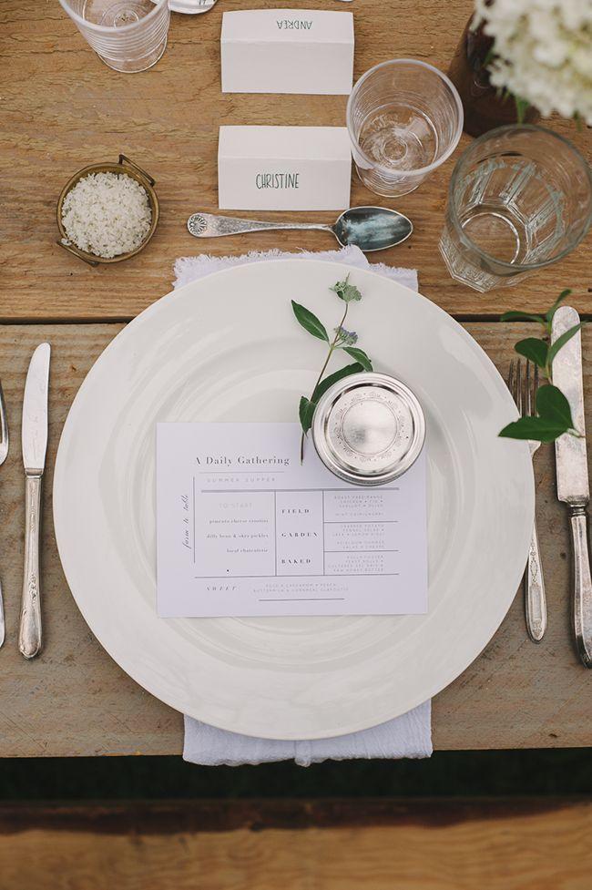 best 20 casual table settings ideas on pinterest. Black Bedroom Furniture Sets. Home Design Ideas