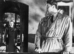 The detective-hero cannot escape the femme fatale from his past. Out of the Past (1947)