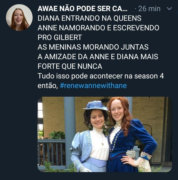 Promote Anne With An E Renewannewithane In 2019 Anne White