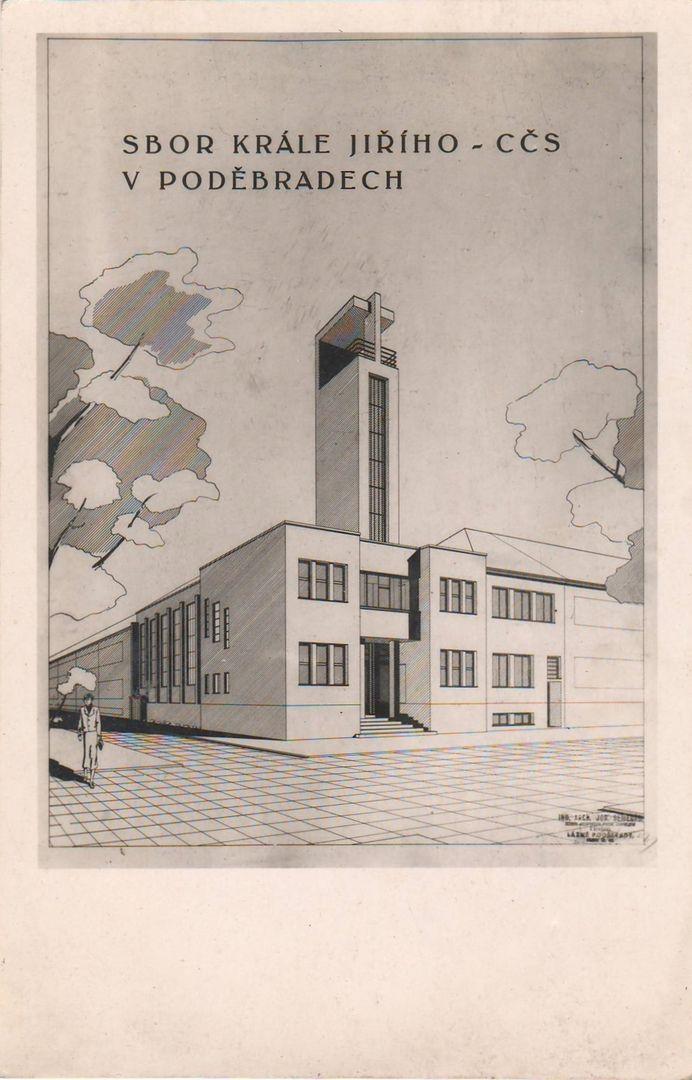 Sbor krále Jiřího, Lázně Poděbrady (Assembly of King George, Spa town of Poděbrady) (1935-36)