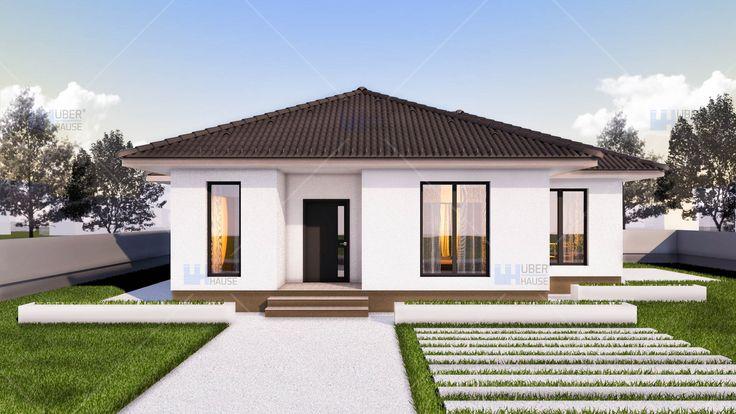 Proiect casa EMA. Parter | 2 camere | 97 mp. Mai multe detalii gasiti aici: https://www.uberhause.ro/proiecte-casa/proiect-casa-parter-97-mp-ema
