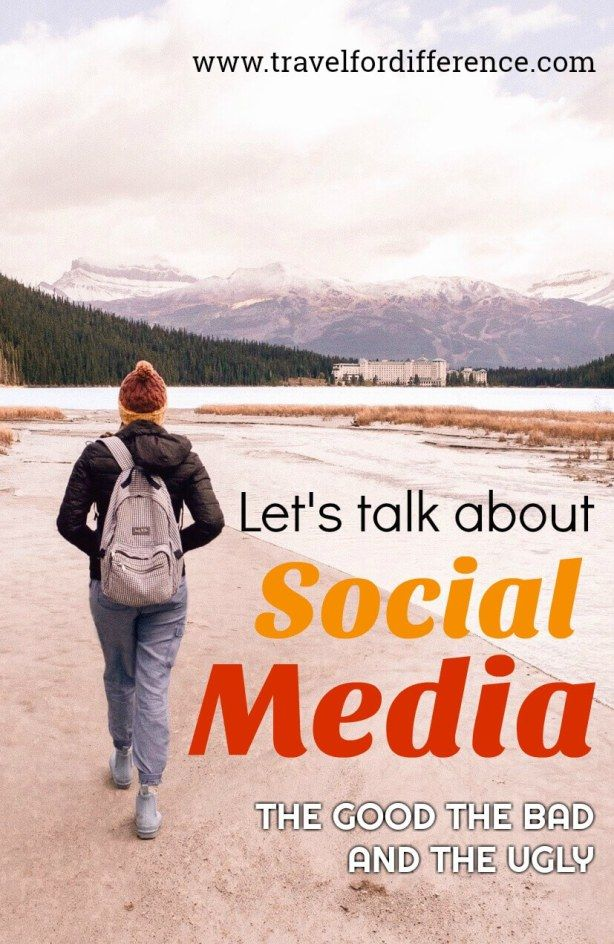 Let's talk about Social Media; the current algorithm, the true meaning of social media, the negative side of social media and the good, bad and ugly. #SocialMedia #TravelBlogger