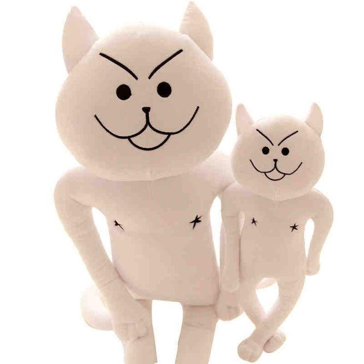 Бесплатная доставка милый мультфильм плюшевые куклы 40 см каваи плюшевые куклы забавный кот плюшевые куклы мягкая мягкие игрушки день святого валентина подарок на день рождения