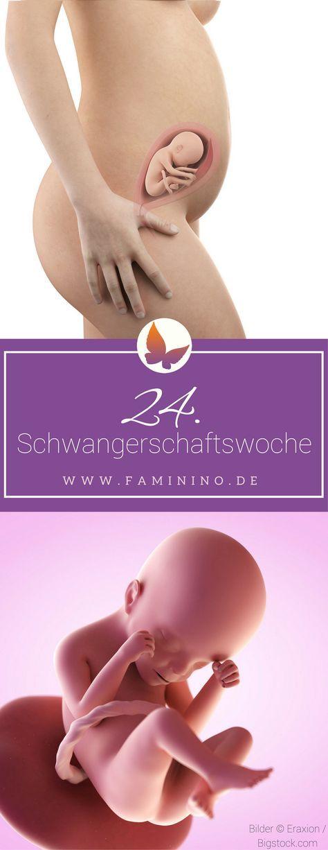 24. SSW (Schwangerschaftswoche): Dein Baby, dein Körper, Beschwerden und mehr