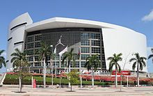 American Airlines Arena, home to the Miami Heat.