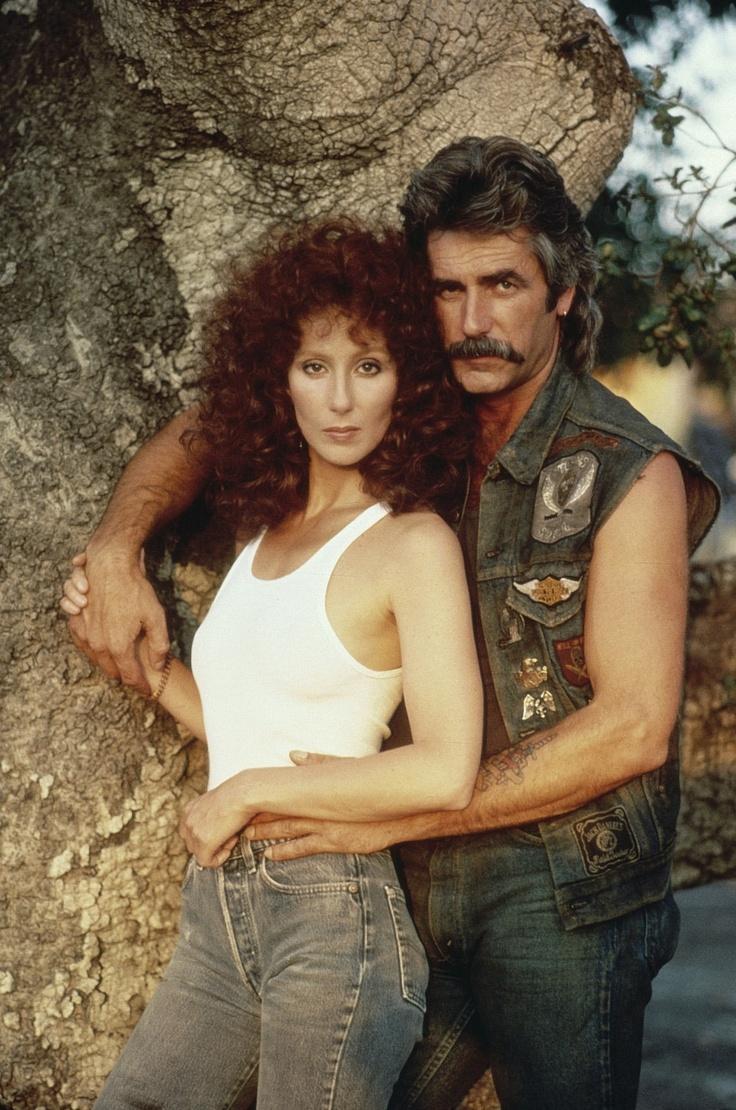 Cher & Sam Elliott publicity photo for Mask (1985)
