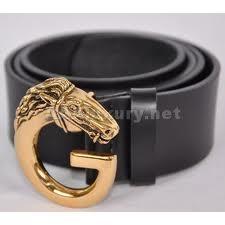 Gucci belts.