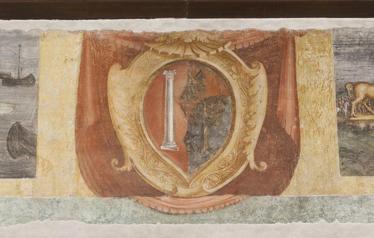 stemma matrimoniale tra i colonna e i della rovere