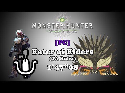 MHW PC w/ Mods] Eater of Elders - LBG TA Rules - 1'47