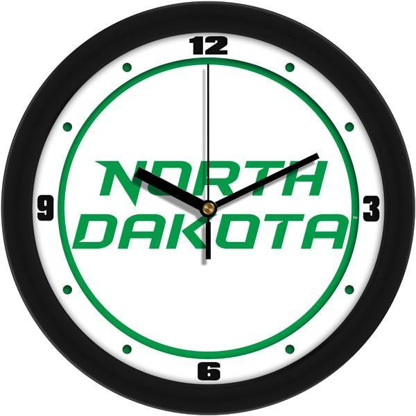 New - North Dakota Fighting Hawks-Traditional Wall Clock