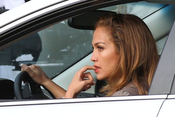 """Jennifer Lopez Jason Statham Photos: Busy mom Jennifer Lopez enjoys her """"Parker"""" co-star, Jason Statham's, company as they film a driving scene for their upcoming film in Miami"""