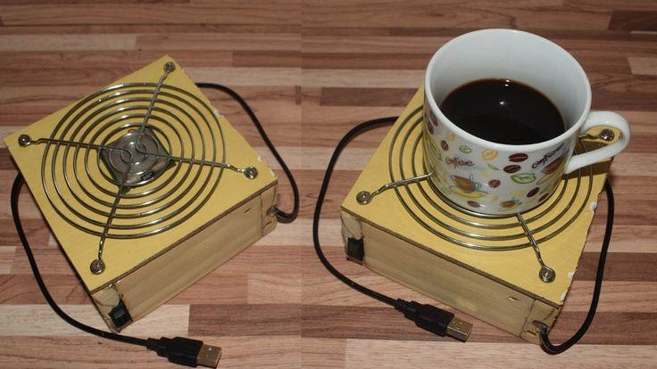 Como fazer um aquecedor de xícaras com um processador!