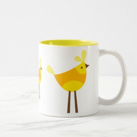 bird 1 Two-Tone coffee mug