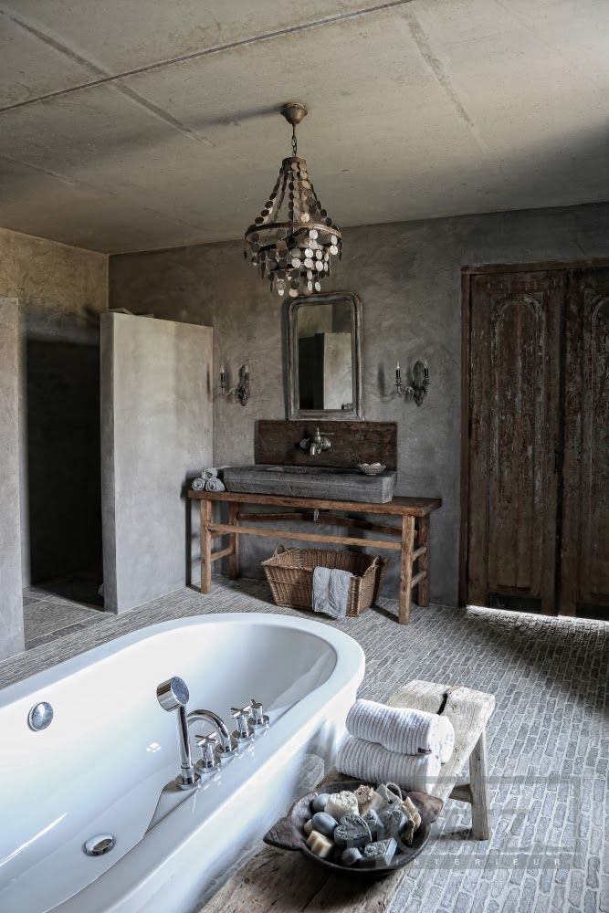 Franciska beautiful world inspiration for bathroom Rustic country style bathrooms