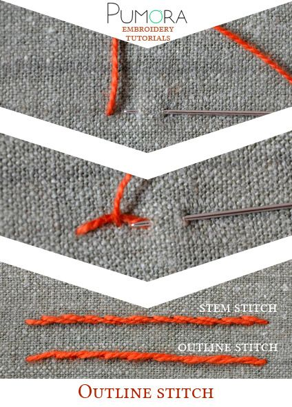 Knitting Outline Stitch : 1000+ ideas about Creative Embroidery on Pinterest Embroidery Designs, Embr...