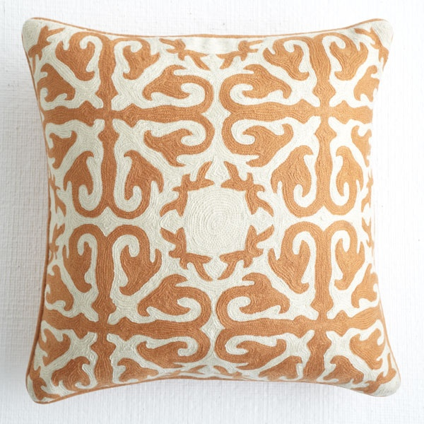 Moroccan Pillow - Deep Saffron | Pillows & Covers | Wisteria