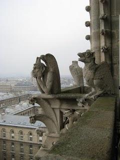 Paris. Notre Dame Gargoyle. 2008