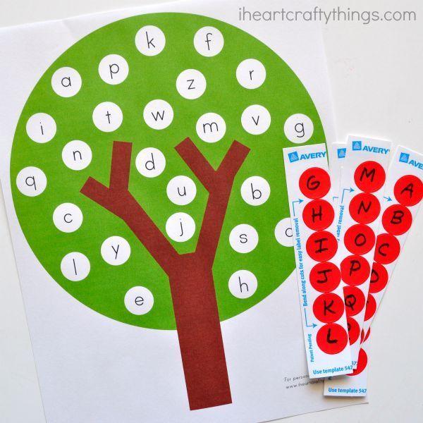 alphabet dating letter a ideas for preschool