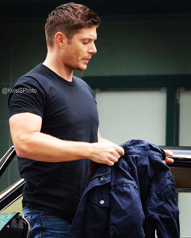 @jensenackles BTS from Set from Episode #12x05 #TheOneYouveBeenWaitingFor Pic Credit: Credit: @KelsiSPhoto (Twitter)