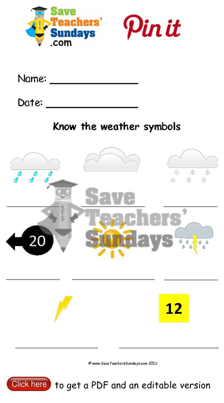 Uncategorized Weather Symbols Worksheet 23 best seasons lesson plans worksheets and teaching resources types of weather symbols writing frame go to httpwww