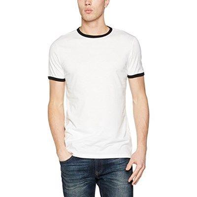 Chollo en Amazon España: Camiseta New Look Basic Ringer Tee por solo 4,18€ (un 40% de descuento sobre el precio de venta recomendado y precio mínimo histórico)