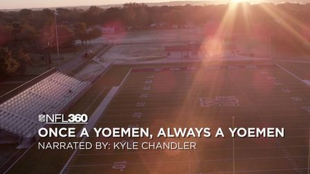 Kyle Chandler narrates the story of Cameron, Texas a town two hours away from NRG Stadium in Houston that lives for Friday Night Lights. Everything was on the line for the town's beloved Yoemen facing off against a local rival and it came down to a field goal in overtime. It isn't about the outcome of the game, but the people you experience those moments with.
