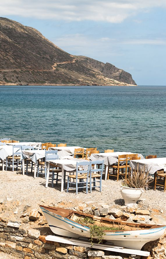 Tavern by the sea at Plaka, Crete | My Paradissi