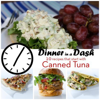 Dinner in a Dash: 10 Recipes that Start with Tuna