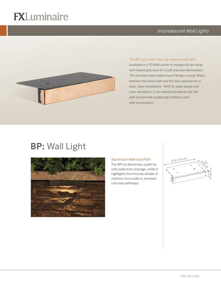 #Dallas #Landscape #Lighting Sells And Installs BP Wall Lights By FX  Luminaire.