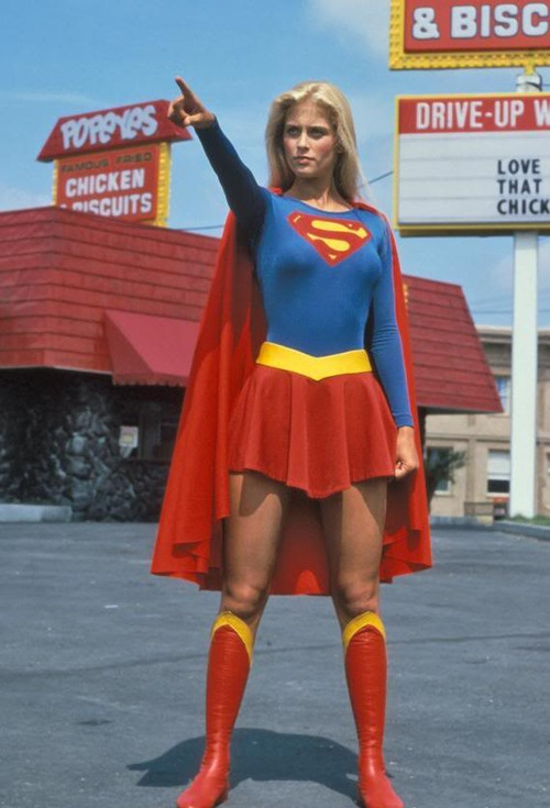 Supergirl - Helen Slater...... I wanted to be Supergirl and marry Superman (Christopher Reeve, none of the new ones there was only one Superman)
