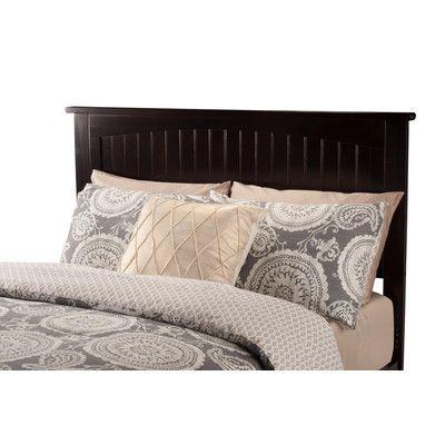 Atlantic Furniture Nantucket Wood Headboard & Reviews | Wayfair