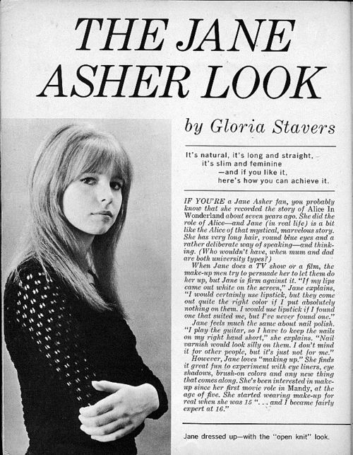 The Jane Asher Look