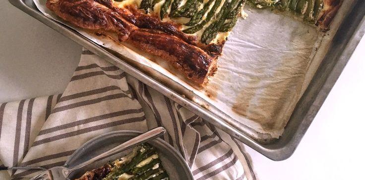 Schiscetta – Torta salata provenzale con Asparagi