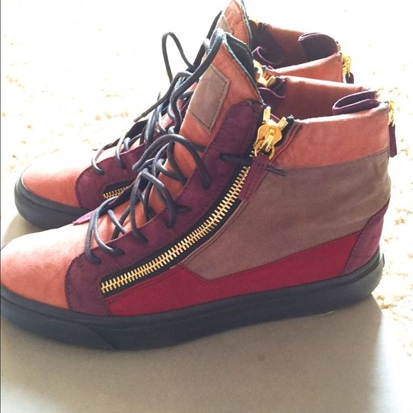 Giuseppe Sneakers Multi colored, great condition worn 3 times at the most Giuseppe Zanotti Shoes Sneakers