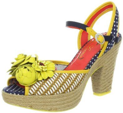 Poetic Licence Women's Fancy Me Ankle-Strap Sandal,Canary,9.5 M US Poetic Licence. $59.00