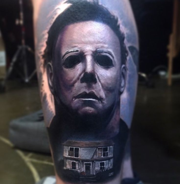 Best in the business - Paul Acker Tattoos - Michael Myers
