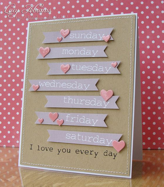 I Love You Every Day Card
