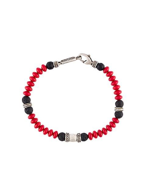 ROMAN PAUL beaded bracelet. #romanpaul #