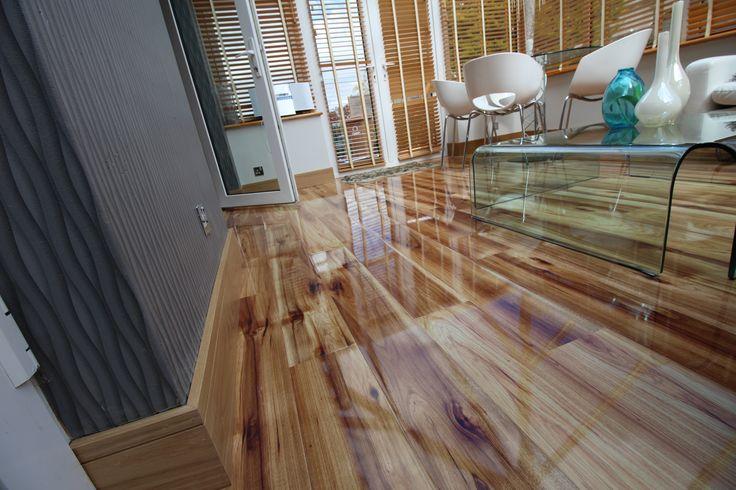Hickory Gloss Laminate Floors Source