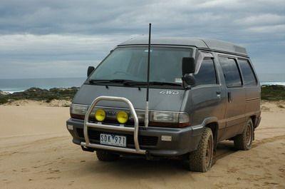 Toyota Townace camper in Australia