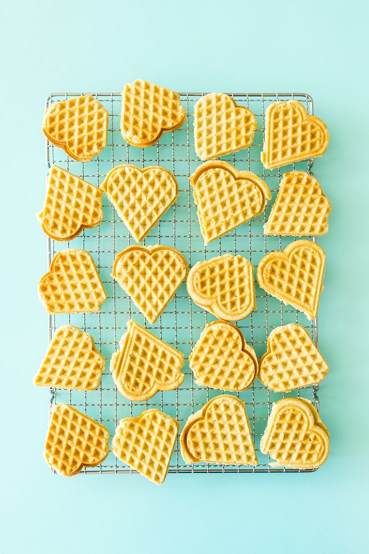 Make Scandinavian sugar cookies in your waffle maker using this easy recipe from Scandinavian Gatherings.  by Sarah Hearts
