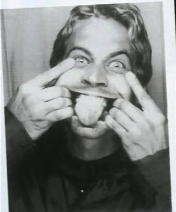 Paul Walker being silly <3