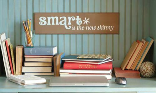 smart is the new skinny: Quotes Decals, Skinny Wall, Hobbies Projects, Funquot Smart, Smart Uppercaselivingvinyl, Wall Quotes, Uppercaseliv Positivew, Upperca Living, Diy Projects