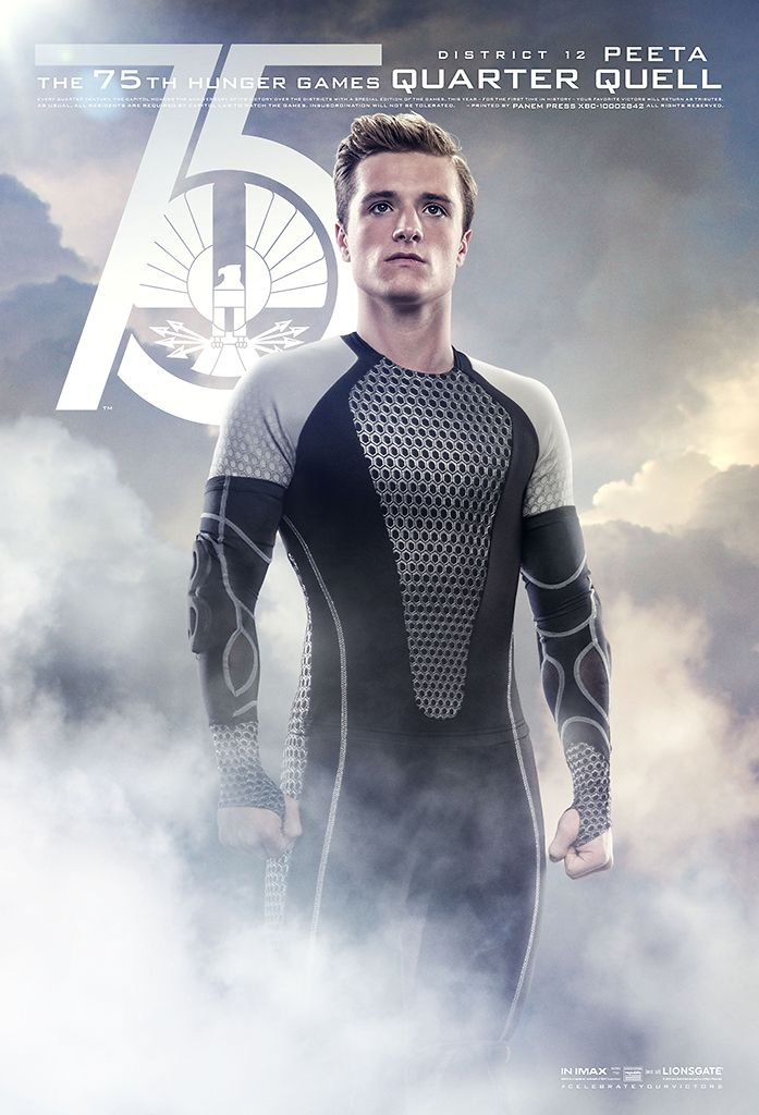 New  Catching Fire poster - Peeta in the Quarter Quell
