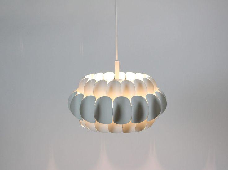 Deckenlampe / ceiling lamp Thorsten Orrling für Hans A. Jakobsson, Sweden 60s