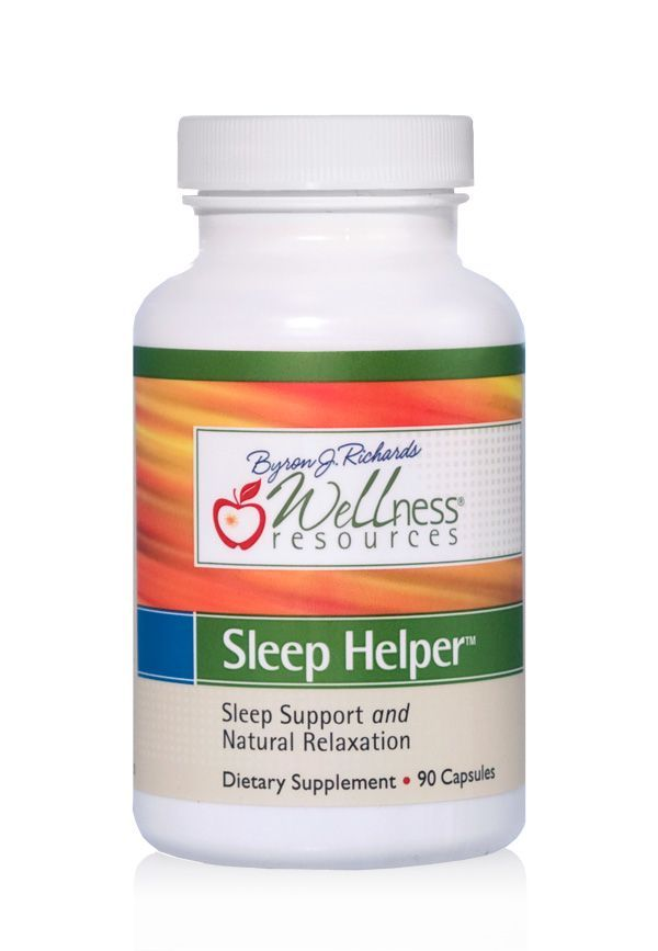 Favorite sleep supplement! Sleep Helper is non-drowsy and naturally promotes restful sleep and relaxation. Helpful if you get a racing mind at night. Also great to take during the day to help stress. Includes l-theanine.