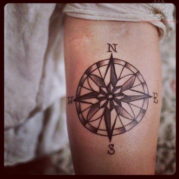 the 36 best vintage compass tattoo images on pinterest