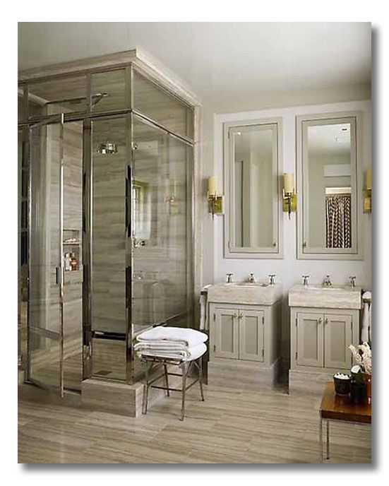 10 ditto worthy bathroom designs that will inspire you!! Plus tons of accessible design ideas you can use in your own home. via Fieldstone Hill Design