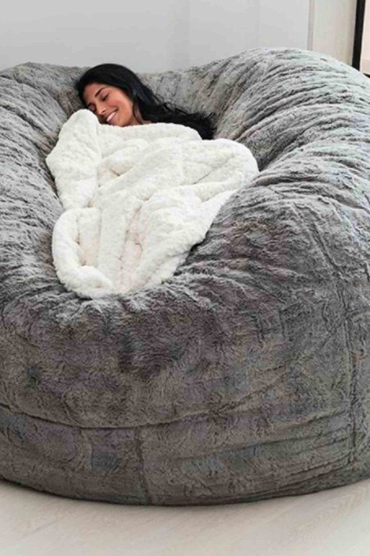 baf40021af This Enormous Bean Bag From LoveSac Is What Nap Dreams Are Made Of