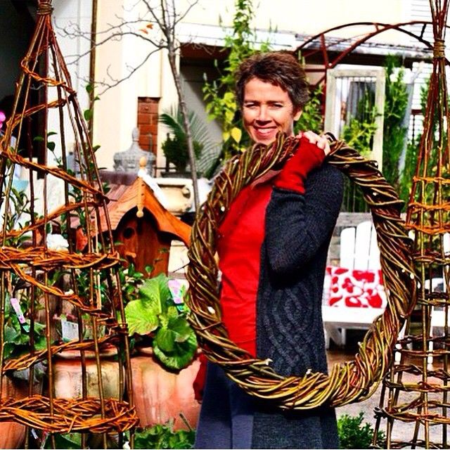 Recent #willow structures made for @thepottingshedbowral